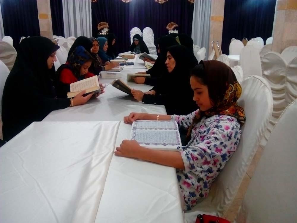 جلسات جز خوانی موسسه خیریه بنیهاشم رضوی رمضان ۹۴-161258