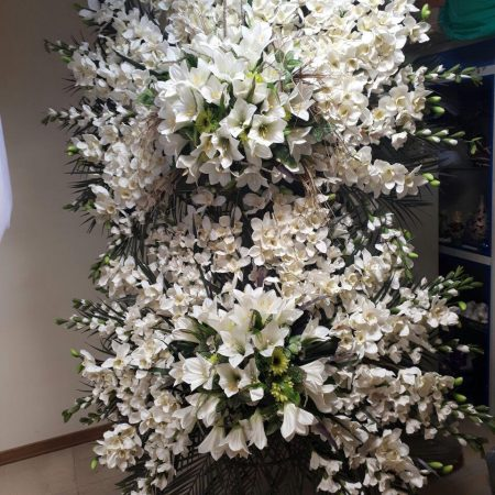 سفارش تاج گل دو طبقه